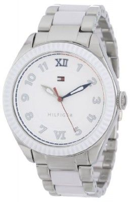 Relógio Tommy Hilfiger Women s 1781342 Casual Sport White Coin Edge Bezel  Watch  Relógio  Tommy Hilfiger 06948678a6