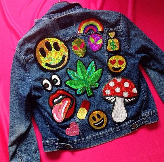Diy Handmade Embroidered Patch: Hand Embroidered Custom Patches For Jackets And Clothing