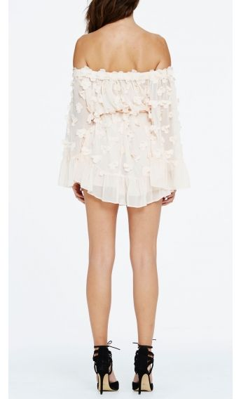 0a9abd610e18 alice McCALL Pastime Paradise Playsuit Shell Pink