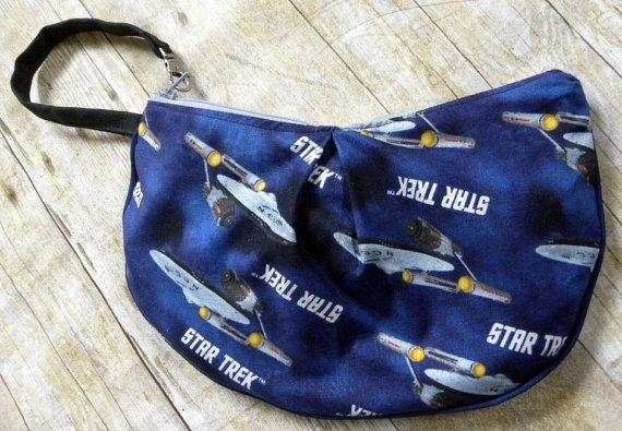 Ready To Ship Star Trek Velma Clutch by BrookeVanGoryDesigns