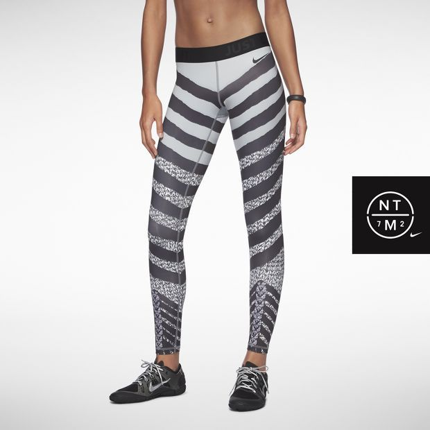 Nike Pro Zebra Knit Women s Tights  9f1fef1a1ef5