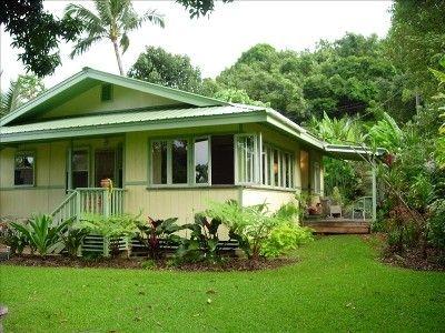Vrbo Com 99910 Magical Kauai Cottage On North Shore Tropical Beach Houses Beach House Decor Beach Cottage Style
