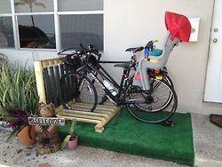 DIY Bike rack! Yeah!!!