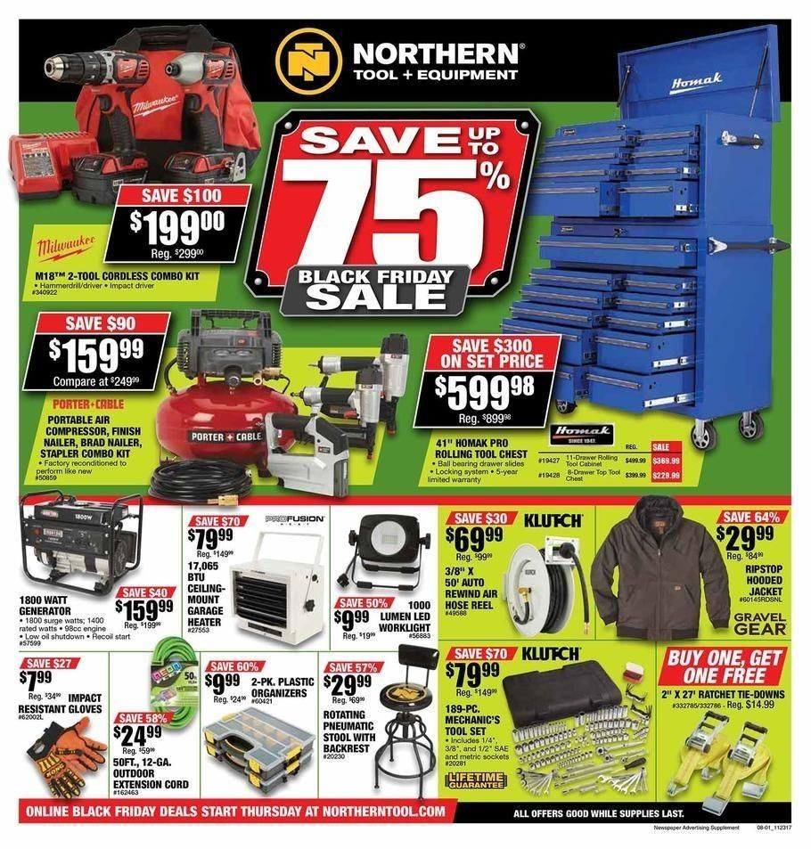 Northern Tool 2020 Black Friday Ad Black Friday Ads Black Friday Deal