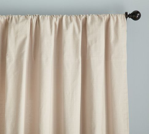 Textured Cotton Deep Pocket Curtain Home Projects Curtains