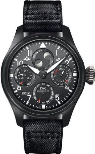 IWC Big Pilot Perpetual Top Gun Black Dial Mens Watch 5029-02