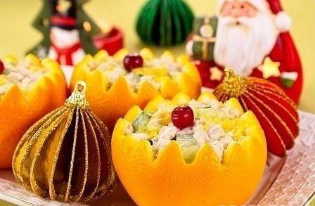 Weihnachten mit Orangen