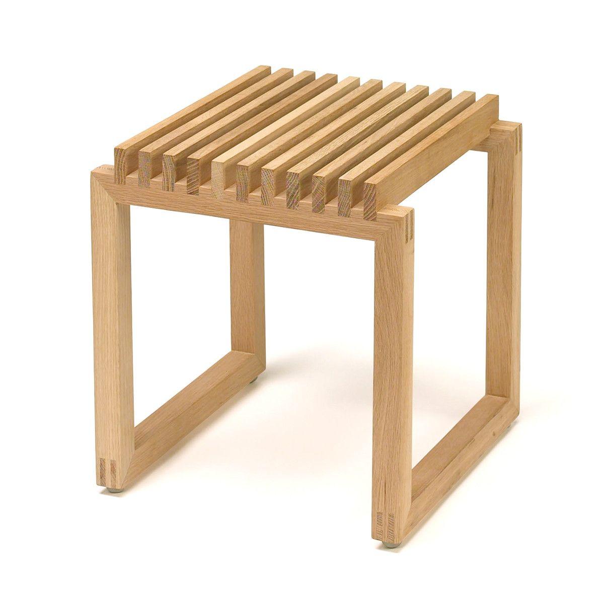 Skagerak Cutter Holz Hocker Eiche Eiche Natur T 40 H 43 B 40 Online Kaufen Bei Hocker Holz Holzhocker Hocker