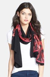Ted Baker London 'Jungle Orchid' Scarf