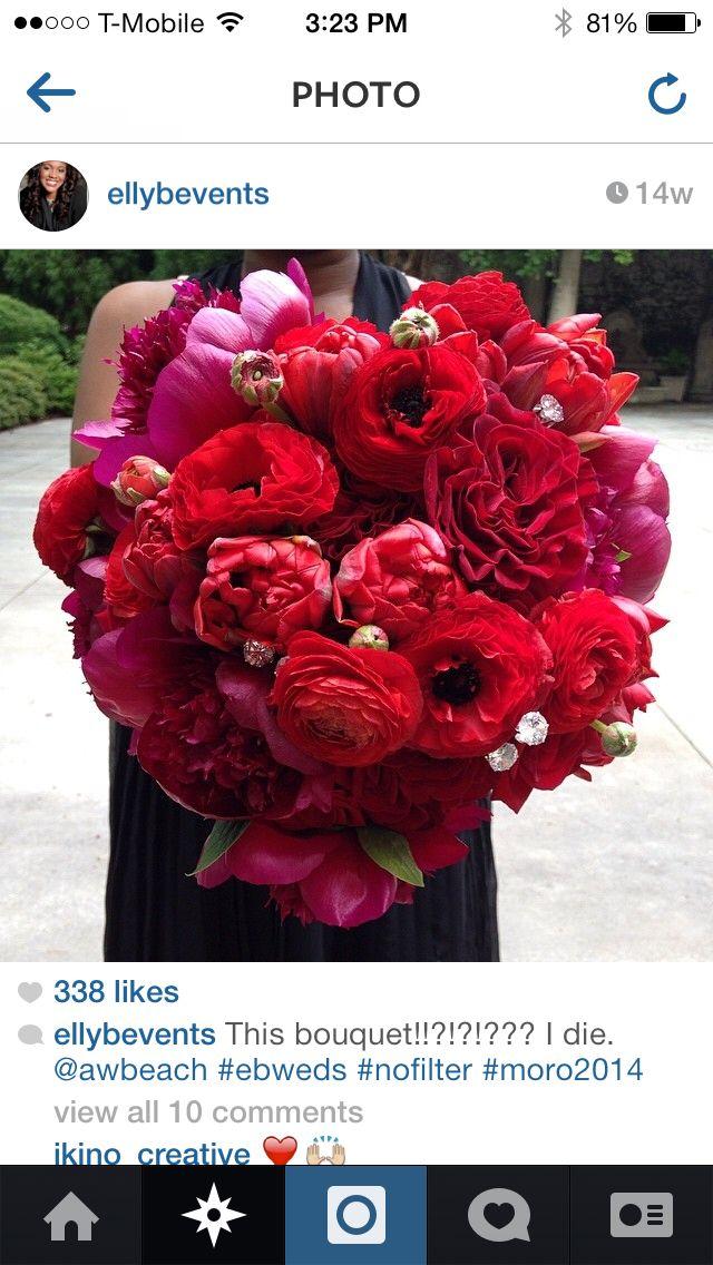 Different color bouquet