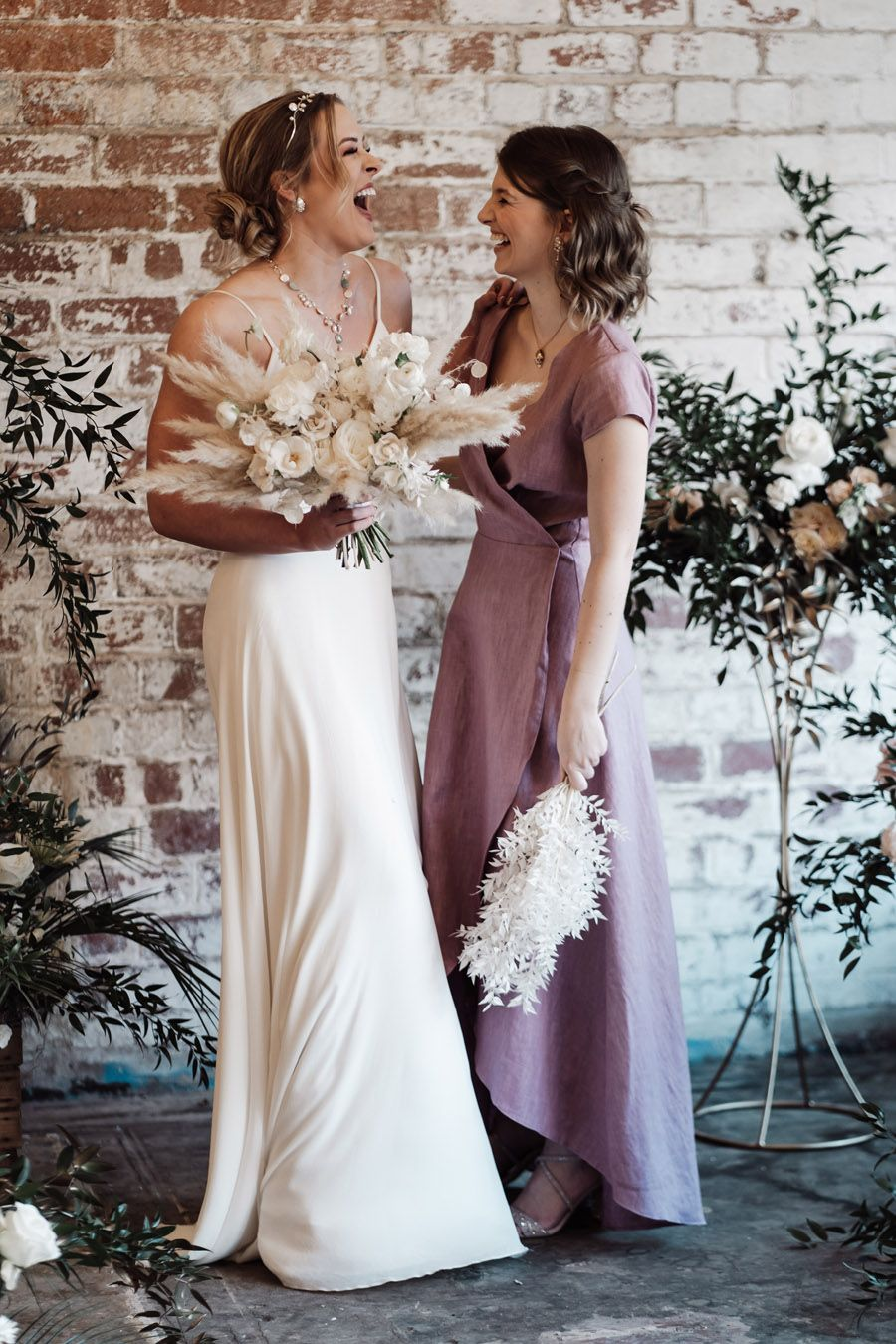 new ethical bridesmaids' outfits by Luna Bride in