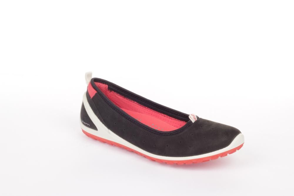 Ecco 237533 Jab BlackBlack L?kker ballerina sko med god og