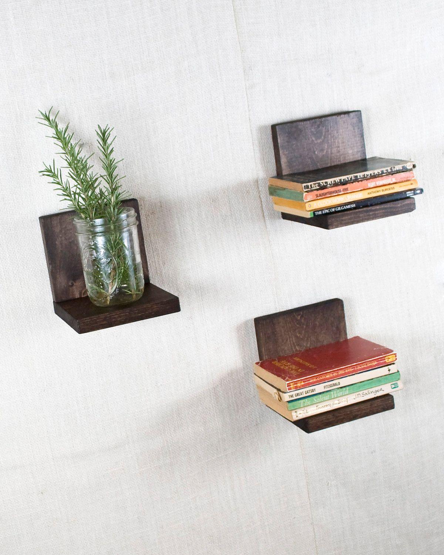 Floating shelf sconce shelf espresso shelves wall storage floating shelf sconce shelf espresso shelves wall storage bookshelves set of amipublicfo Choice Image