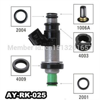 40pieces Set Auto Part Fuel Injector Repair Kit Fuel Filter Seals
