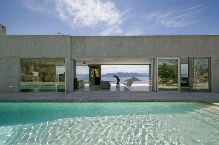Private Residence on the Island of Aegina, Greece by Konstantinos Kontos