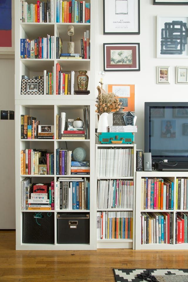 15 Super Smart Ways to Use the IKEA Kallax Bookcase | Ikea kallax ...