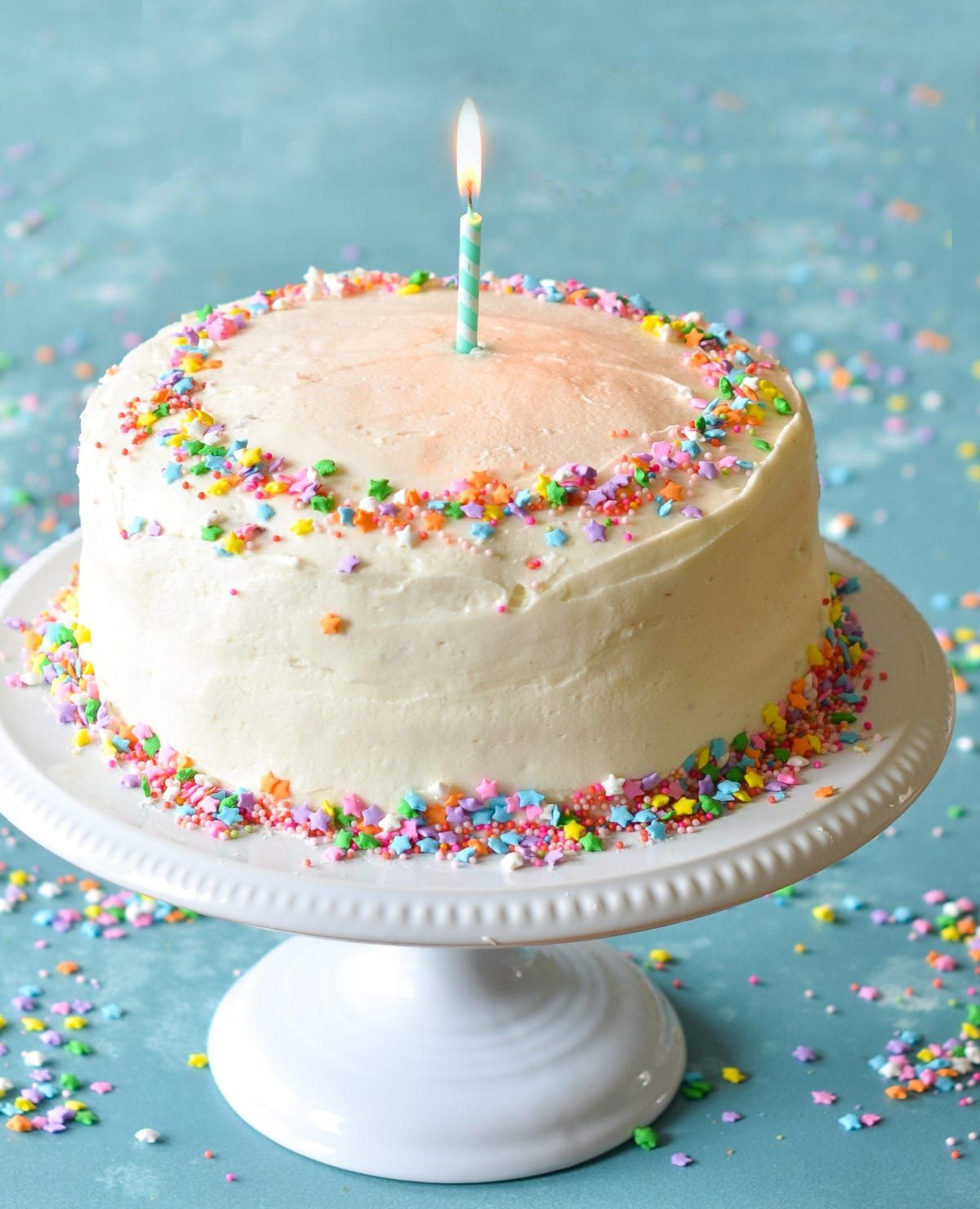 TESTED PERFECTED RECIPE This Moist Delicious Birthday Cake Recipe Is Adapted From One Of My Favorite Baking Books Perfect Cakes By Nick Malgieri