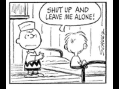 Forgotten Peanuts Character Shut Up And Leave Me Alone Halloween Adventure Leave Me Alone Garfield Halloween
