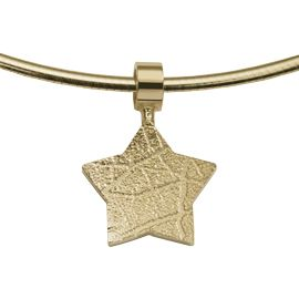 Star: The Star is a star-shaped pendant of about 14 mm, which can be provided with a footprint.