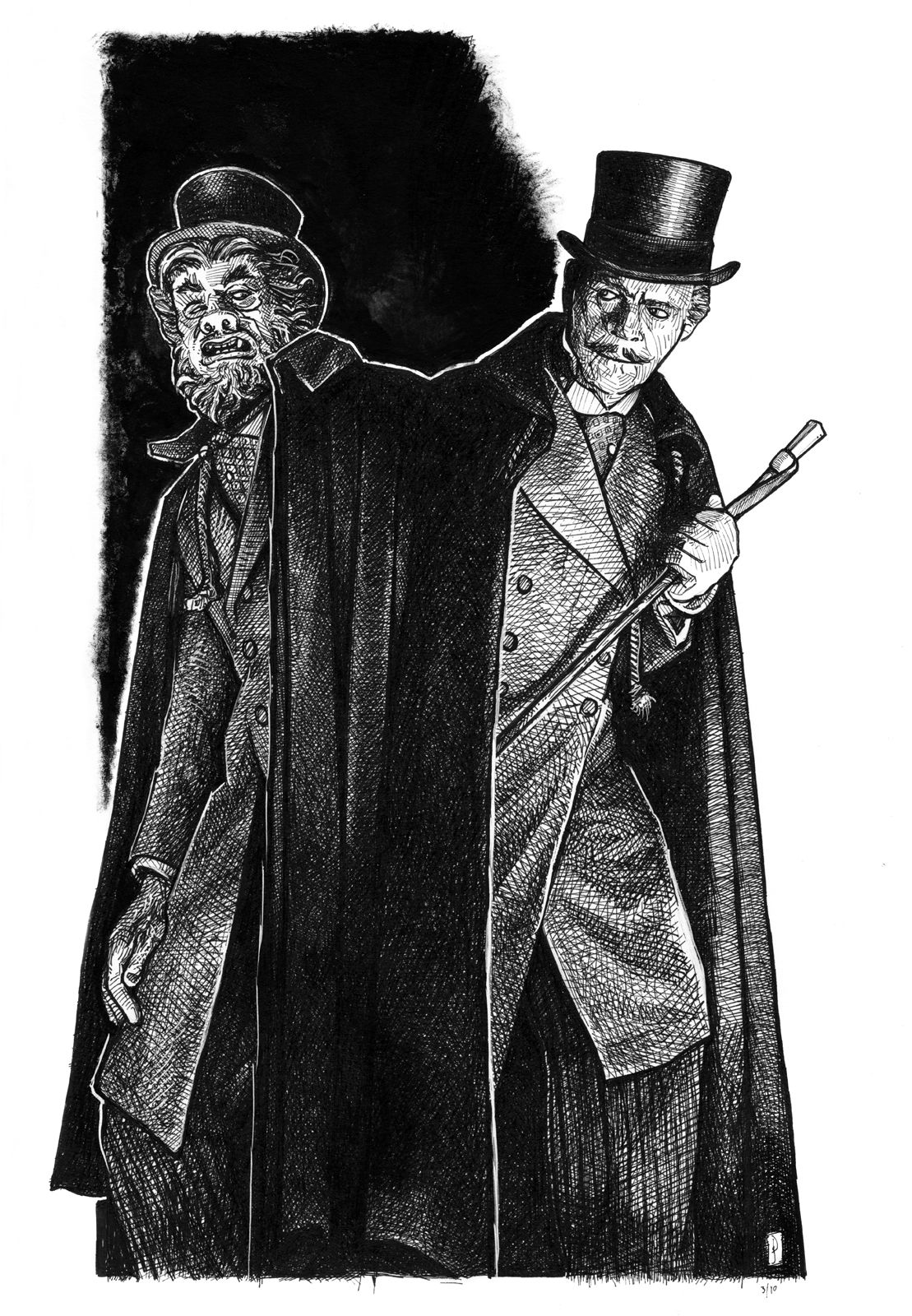 dr jekyll and mr hyde famous monsters pinterest artsy fartsy artsy and artwork. Black Bedroom Furniture Sets. Home Design Ideas
