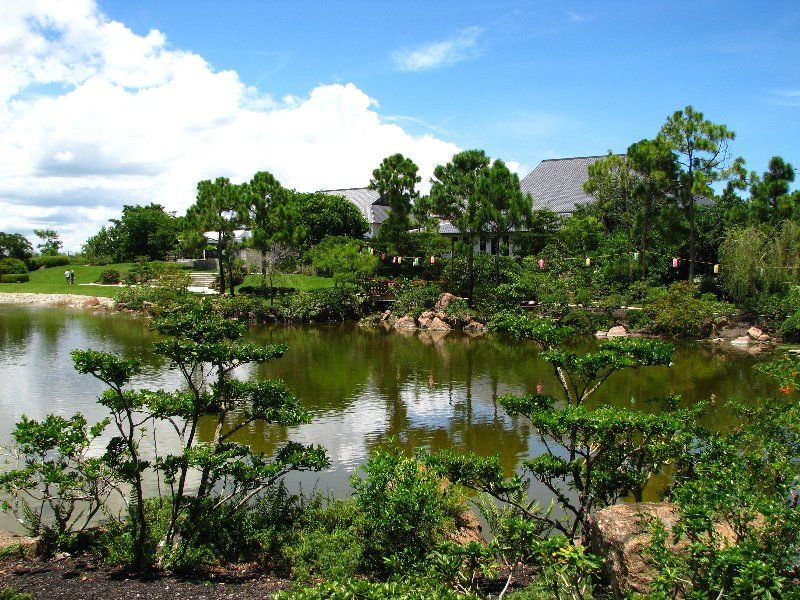 The Morikami Museum Anese Gardens In Delray Beach