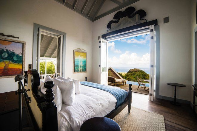 Ten island escapes where summer temperatures always await—Belle Mont Farm in St. Kitts.