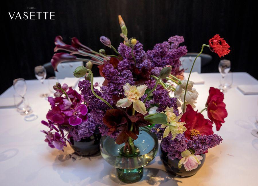 lilac daffodil poppy calla iris melbourne florist