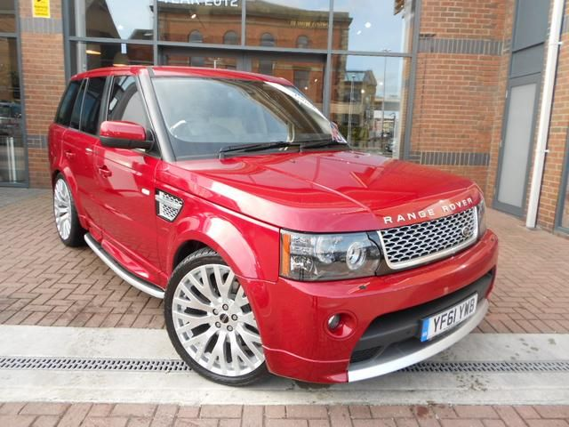 2012 Range Rover Sport 3 0 Sdv6 Autobiography Sport 5dr Automatic In Firenze Red Nice Colour Range Rover Sport Red Range Rover Jaguar Land Rover