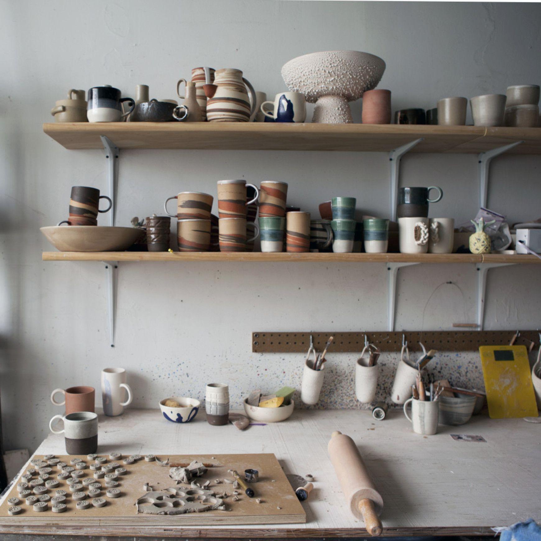 Inside helen levis powerhouse pottery business ceramic