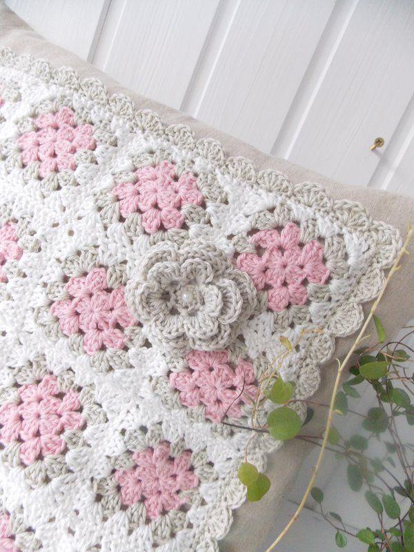 Lille Ting | Cojines a crochet | Pinterest | Manta, Ganchillo y Tejido
