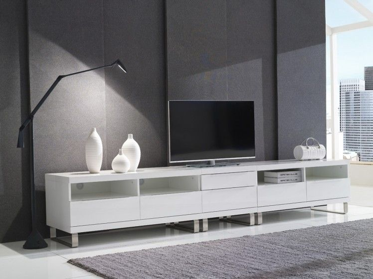 4120+460+4120 3 Mt TV Unit. The soft close drawers offer high-end sophistication and are perfect for tucking all of the extra accessories and knick-knacks out of sight. For more information, please visit www.gainsville.com.au
