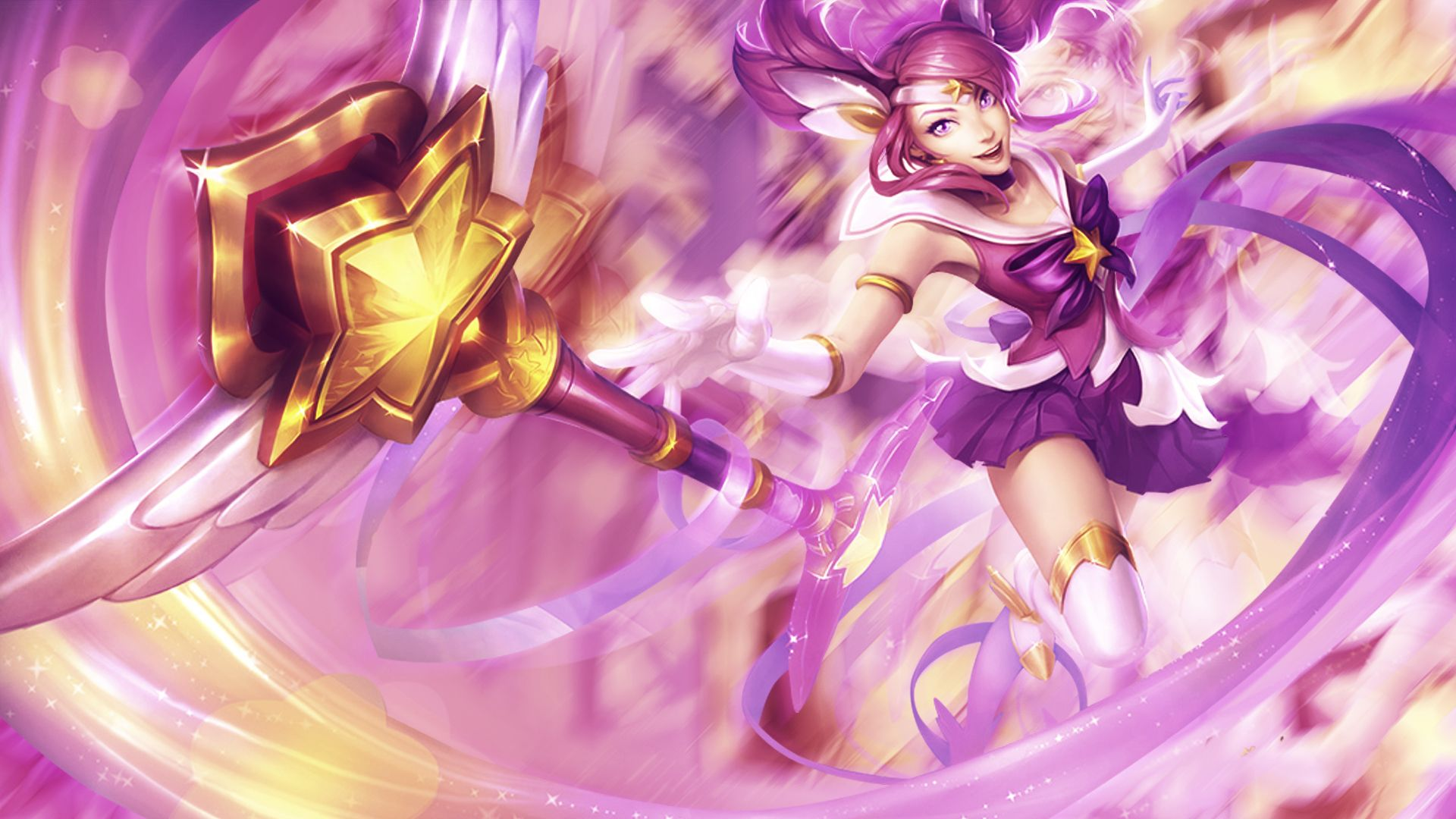 1920x1080 Star Guardian Lux Wallpaper With Images Star