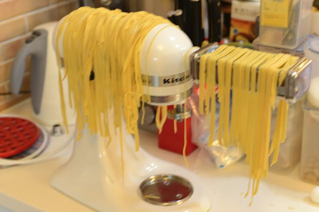 Cooking at Home: Fresh Homemade Pasta