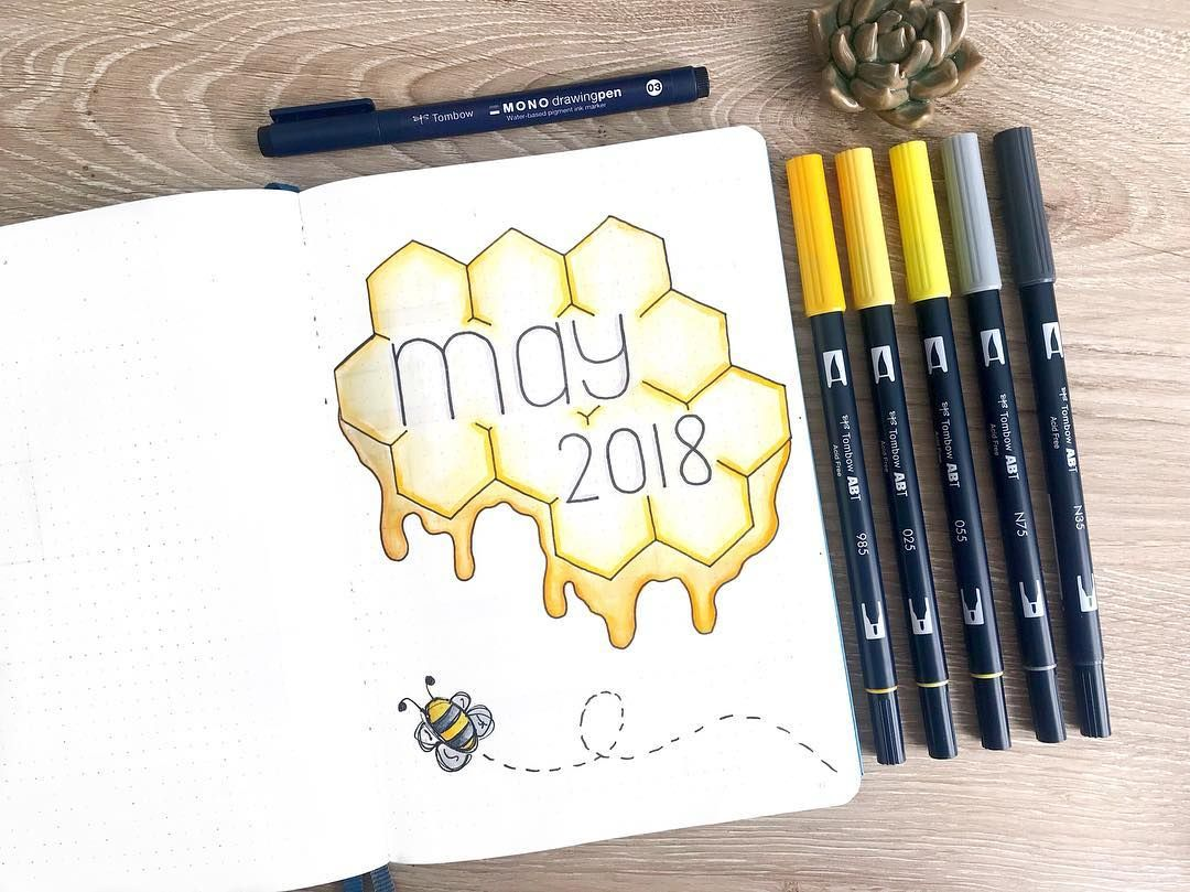 19 Monthly Cover Pages To Beautify Your Bullet Journal