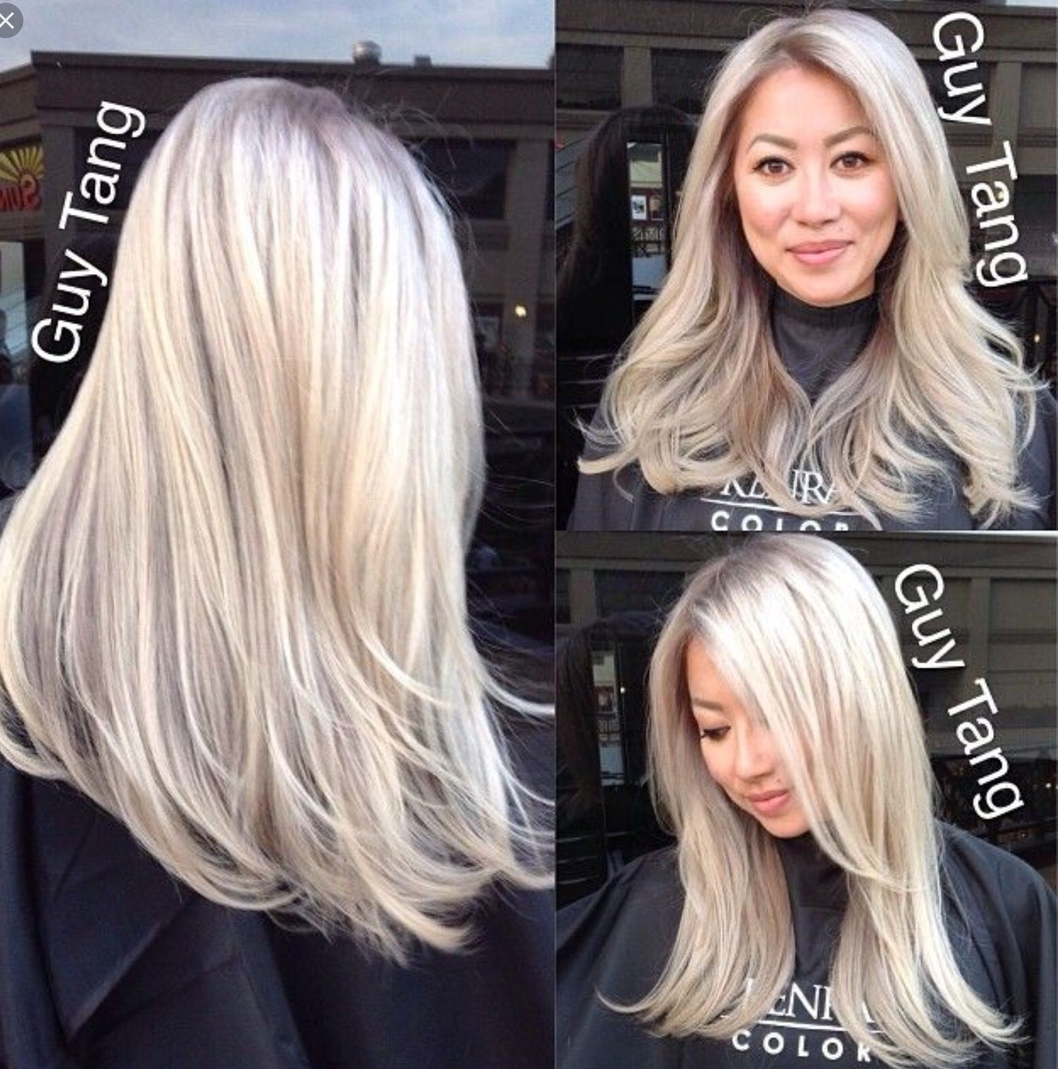 Cool Blonde Ice Blonde Hair Hair Color Asian Ash Hair Color