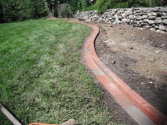 Sturbridge Lawn Maintenance Customer Yelp Brick Garden Edging Brick Garden Landscape Edging