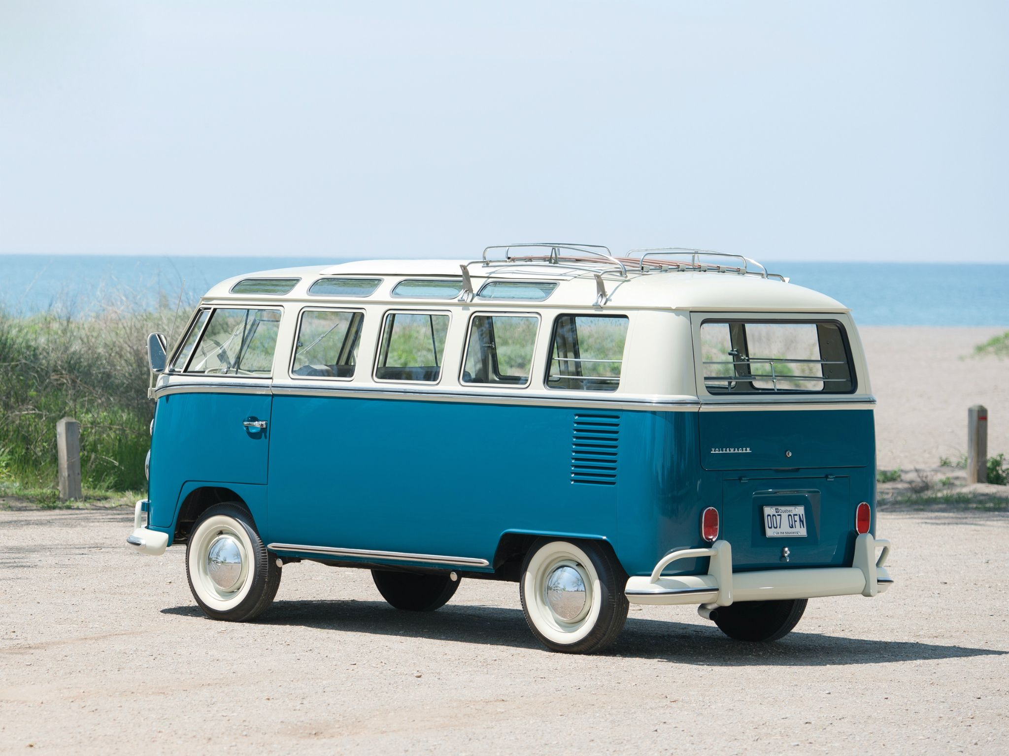 1963 67 Volkswagen T1 Deluxe Samba Bus Vw Bus Oldtimer Classic Vw T1
