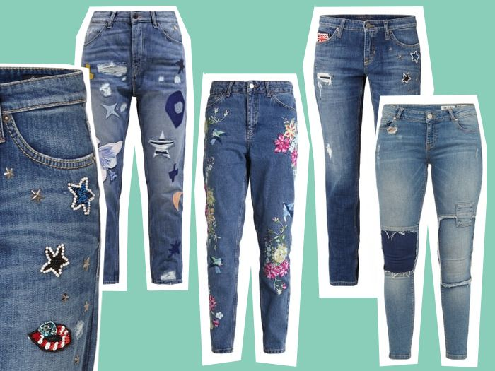 Modetrend Herbst 2016 Patch Jeans
