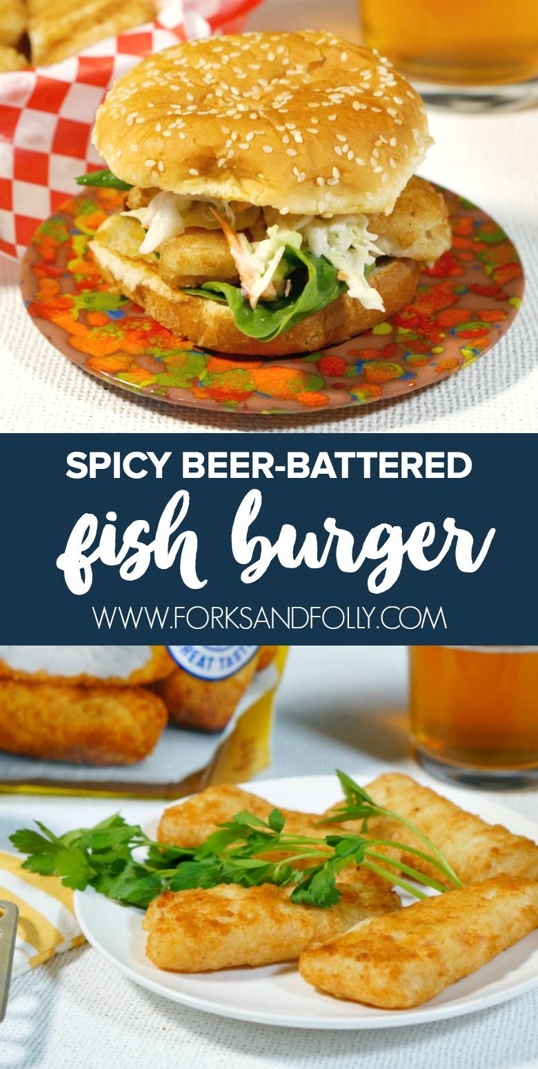 Msg 4 21+: Light her up! #ad Our Spicy Beer Battered Fish Burger packs some serious heat. @GortonSeafood Beer Battered Crispy Fish Fillets are stacked on hot sauce buttered buns and topped with a jalapeño slaw. #GortonsMealTime #TrustGortons