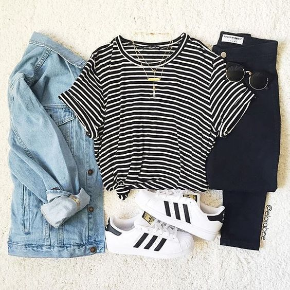Ways to Wear: Adidas Original Superstars | Superstar outfit