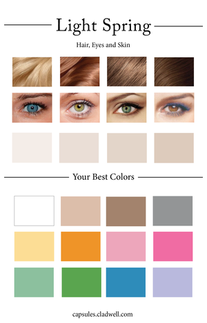 How To Create Your Personal Color Palette Warm Spring Palette Light Spring Color Palette Warm Spring Color Palette