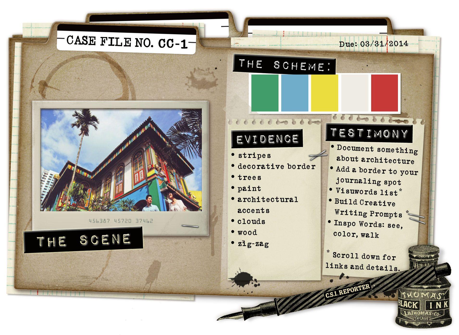 Pin By Csi Scrapbooking On Case File No Cc 1