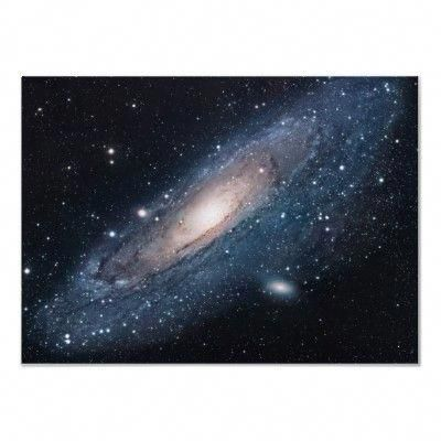 Posters for my son M31 Galaxy in Andromeda Print by