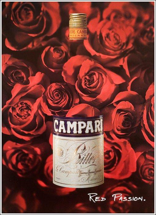 Campari - red passion - 1990 -   CAMPARI   Pinterest   Italienische ...