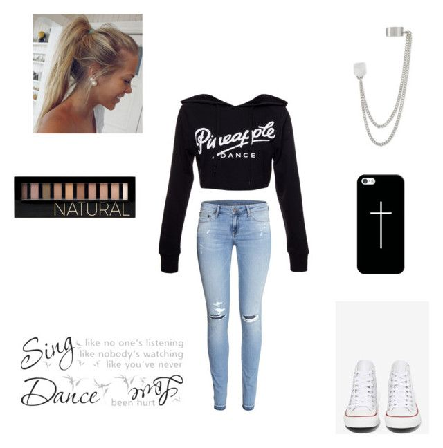 """""""Untitled #123"""" by amberleeloves5sos ❤ liked on Polyvore featuring H&M, Converse, Casetify, French Connection and Forever 21"""