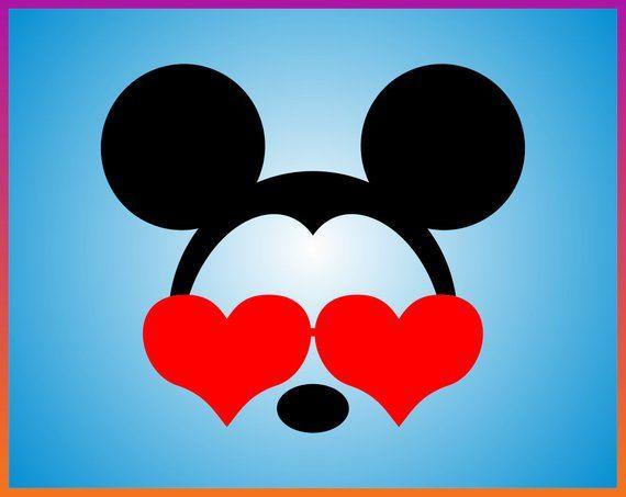 Download Disney SVG Mickey Minnie Head Love SVG Mickey Minnie Ears ...