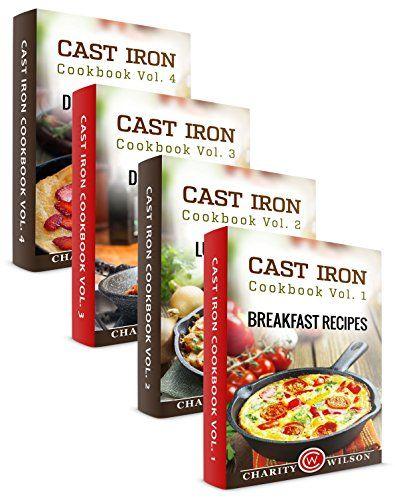 Cast Iron Cookbook Box Set: Cast Iron Breakfast, Lunch, Dinner & Dessert Recipes (Comfort Food Recipes 1) - http://knowabouttheglow.com/foods/cast-iron-cookbook-box-set-cast-iron-breakfast-lunch-dinner-dessert-recipes-comfort-food-recipes-1/