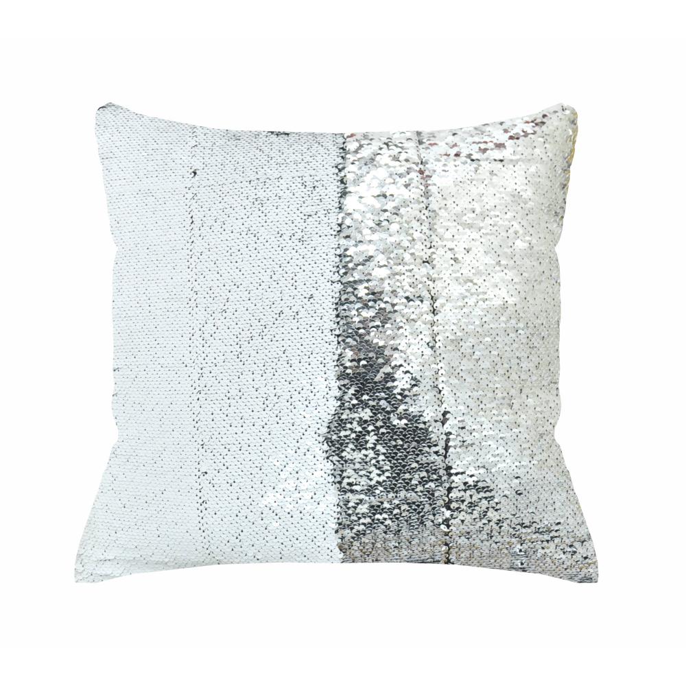 Mainstays Reversible 17 X 17 Sequin Sparkle Pillow Walmart Com Sparkle Pillows Silver Pillows Pillows [ 1000 x 1000 Pixel ]