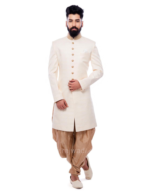 Charming cream color patiala suit rajwadi patialasuit classic