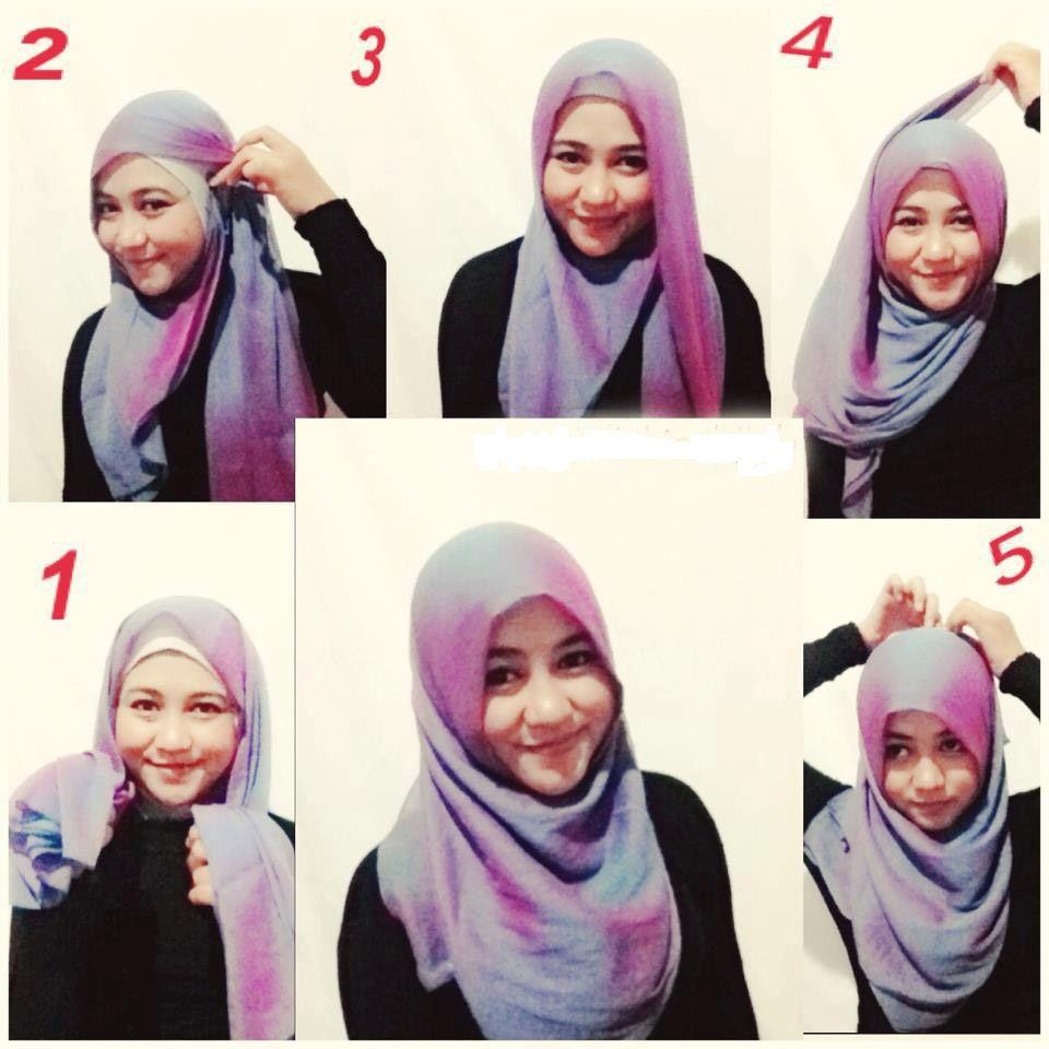 Segi Empat Modern Namun Tetap Islami Tutorial Hijab Modern And